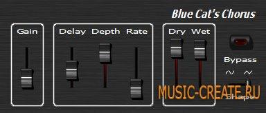 Blue Cat's Chorus / Stereo Chorus  от Blue Cat Audio - хорус