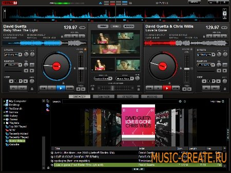 Virtual DJ Pro v6.1 RetaiL MLRus + Portable от Atomix - инструмент dj