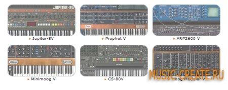Vintage Synth Collection Updates от Arturia - сборка аналоговых синтезаторов-2