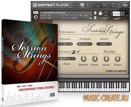 Session Strings от Native Instruments (NI) - бас модуль