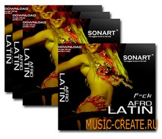 Afro Latin Vol 19 от Sonart Audio - сэмплы афро латин