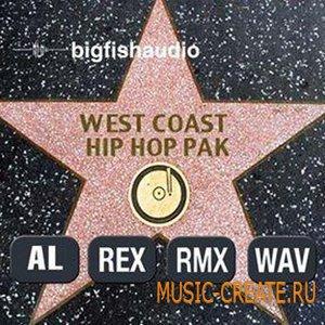 West Coast Hip Hop Pak от Big Fish Audio - сэмплы Hip Hop
