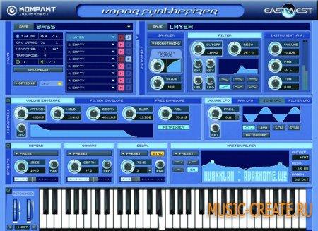 Vapor Virtual Synth 1.0 от EastWest - звуковой модуль