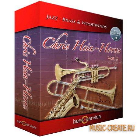Best Service - Chris Hein Horns Vol 2 (KONTAKT) - библиотека звуков духовых инструментов