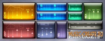 PlastiCZ 1.1.0 от reFX - синтезатор