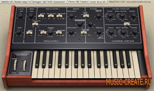Model Pro от Elektrostudio - синтезатор