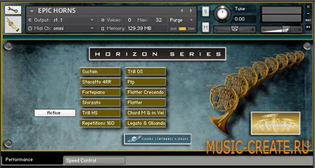 Epic Horns от Vienna Symphonic Library - рожковые инструменты (KONTAKT)