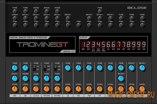 Tromine GT v0.1 от Marvin Pavilion - синтезатор