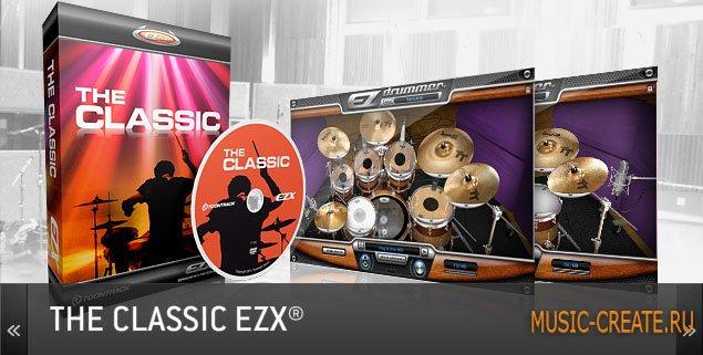 The Classic EZX от Toontrack - библиотека ударных