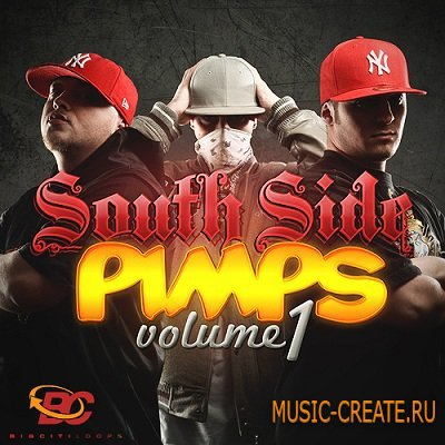 Southside Pimps Vol. 1 от Big Citi Loops - сэмплы Dirty South, Hip Hop