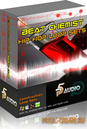 Beat Chemist Hip Hop Loop Sets от P5 Audio - сэмплы Hip Hop (WAV)