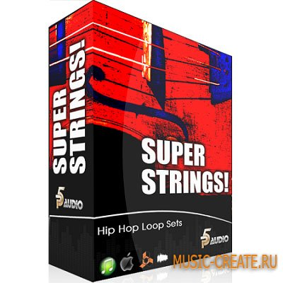 Super String Melodies от P5 Audio - сэмплы Hip Hop (WAV)