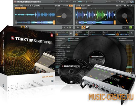 Native Instruments - Traktor & Scratch Pro v2.6 PORTABLE - инструмент dj