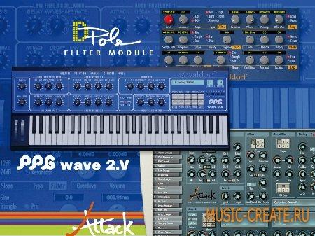 Waldorf Edition от Waldorf - драм + волновой синтезатор + фильтр (PC/MAC)