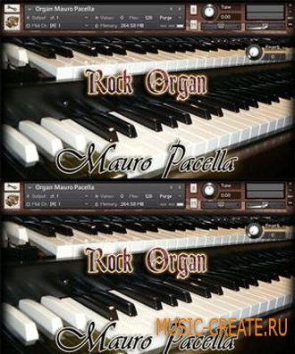 Rock Organ Mauro Pacella - звуки рок органа (KONTAKT)