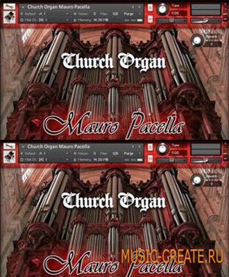 Church Organ Mauro Pacella - звуки церковного органа (KONTAKT)