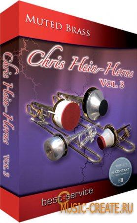 Chris Hein Horns Vol 3 Muted Brass от Best Service - медные инструменты с сурдиной (KONTAKT)