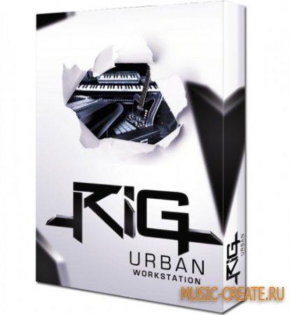 RIG Urban Workstation от Big Fish Audio - библиотека 400 Инструментов (KONTAKT DVDR)
