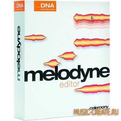 Celemony - Melodyne Editor 2.1.2.2 WIN/MacOSX (TEAM R2R) - плагин корректор тональности