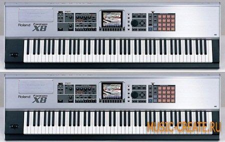 Phantom X Full от TyphoonSound - звуки синтезатора Roland Phantom (KONTAKT)