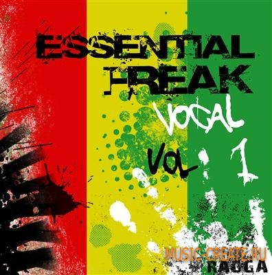 Freak Records Essential Freak Vocal Vol 1 (WAV) - вокальные сэмплы для Reggae, Reggaeton, Dub, Dubstep