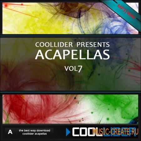 Coollider presents - Acapellas vol.7 - сборка акапелл