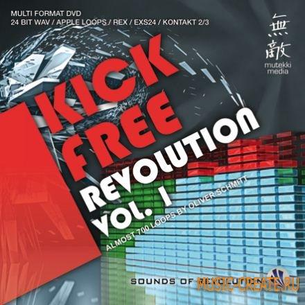 Mutekki Media Kick Free Revolution Vol 1 (MULTiFORMAT) - драм сэмплы без кика