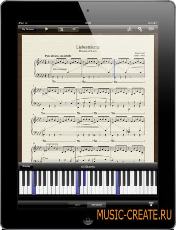 Avid Scorch 1.0.2 for iPad (ASSiGN) - нотный редактор для iPad
