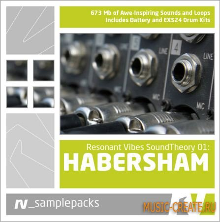 Sound Theory 01: Habersham от RV samplepacks - сэмплы House, Techno, Tech House, Progressive House, Breaks, Electronica, Deep House (WAV AIFF)