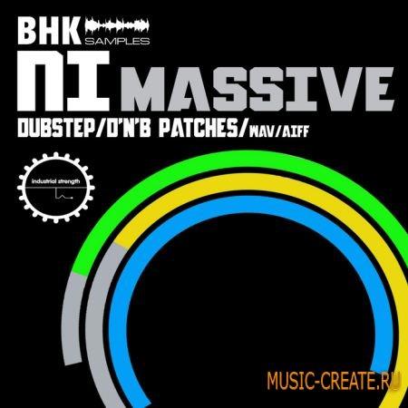 BHK NI Massive от Industrial Strength Records - пресеты для NI Massive, звуки (Massive, ksd, WAV, AIFF)