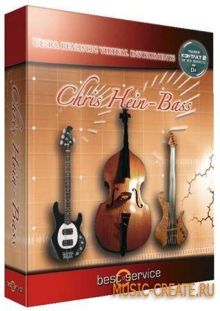 Chris Hein Bass от Best Service - библиотека басовых инструментов (VSTi DXi RTAS AU HYBRID DVDR / TEAM DYNAMiCS)