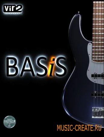 BASiS от Vir2 Instruments - басовые виртуальные гитары (VSTi.DXi.RTAS.AU HYBRID - AiRISO)
