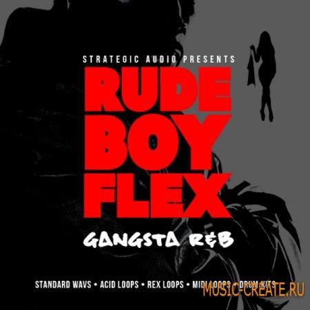 Strategic Audio RudeBoy Flex: Gangsta R&B (wav midi rex2) - сэмплы R&B, Hip Hop