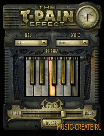 iZotope The T-Pain Effects Bundle STANDALONE DX VST RTAS v1.02 x86/x64 (TEAM ASSiGN) - плагин T-Pain