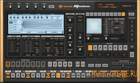 Image-Line Groove Machine STANDALONE VSTi v1.0.2 (TEAM ASSiGN) - синтезатор / драм-машина