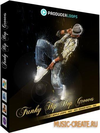 Producer Loops Funky Hip Hop Grooves (WAV REX MIDI) - сэмплы Hip Hop
