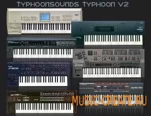 Synthesized High Quality Sound Packs от TyphoonSound 2 - сборка HQ синтезаторных звуков (KONTAKT)