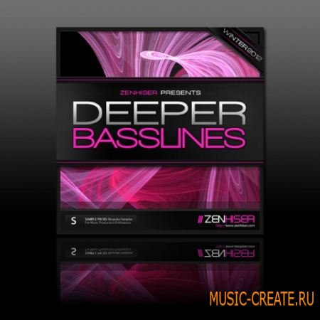 Zenhiser Deeper Basslines (WAV) - сэмплы House, Tech House, Underground Techno, Techno
