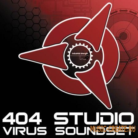 Industrial Strength Records 404 Studio Virus Soundset - пресеты для Acsess Virus