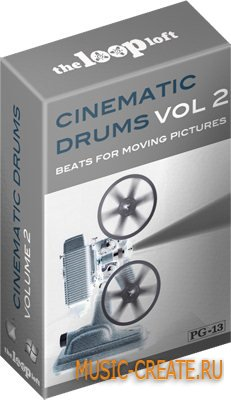The Loop Loft Cinematic Drums Vol 2 (Wav) - сэмплы кинематографических ударных