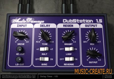 Audio Damage - DubStation v1.5.2 WIN & OSX (TEAM ASSiGN) - плагин дэлей