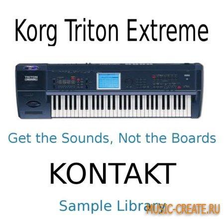 KORG Triton Extreme Sound Library (WAV KONTAKT) - библиотека звуков KORG Triton Extreme