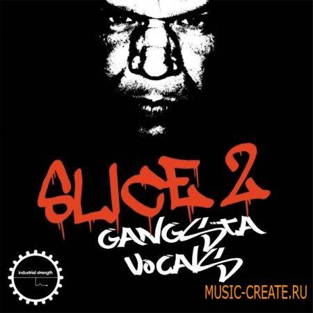 Industrial Strength Records - Slice Vol 2 - Gangsta Vocals (Wav Kontakt) - вокалы и сэмплы Hip Hop