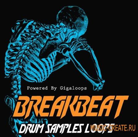 Giga Loops - Breakbeat Drum Loops (WAV REX) - сэмплы Breaks