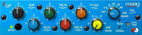 Maag Audio EQ4 v1.9 (Team R2R) - плагин эквалайзер