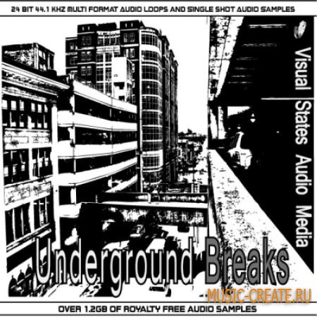 Visual States - Underground Breaks (Wav Midi Rex2) - сэмплы Underground Tech, House, Breaks, Electronica
