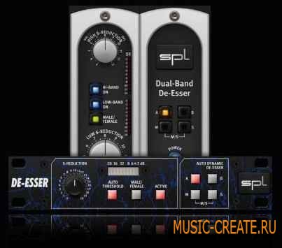 Sound Performance Lab - De-Esser Collection v1.1 x86/x64 (ASSiGN) - плагины De-Esser
