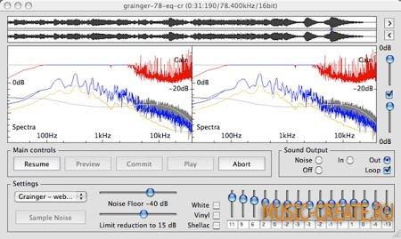 Audio Restoration - DeNoise 2.8.4 Win/MacOSX (Team P2P)