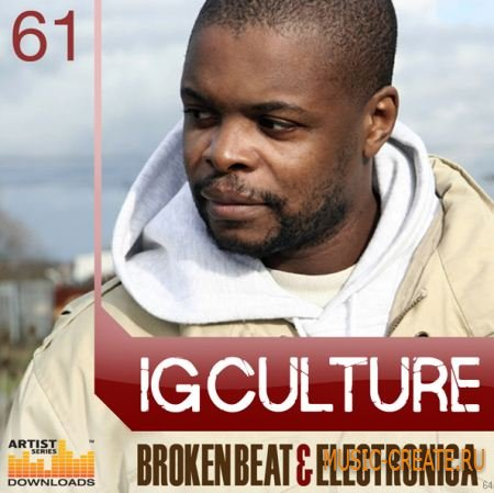Loopmasters - IG Culture: Broken Beat Electronica  (MULTIFORMAT) - сэмплы Breaks, Jazz, Broken, Dubstep, Hip Hop
