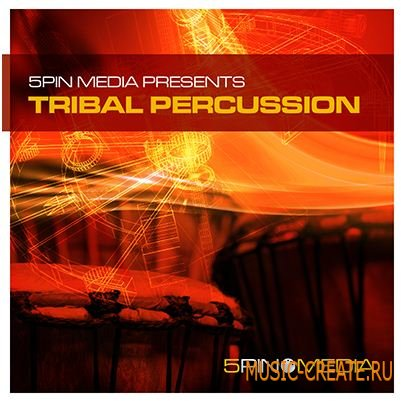 5 Pin Media - Tribal Percussion (MULTIFORMAT) - сэмплы Electro, House, Techno